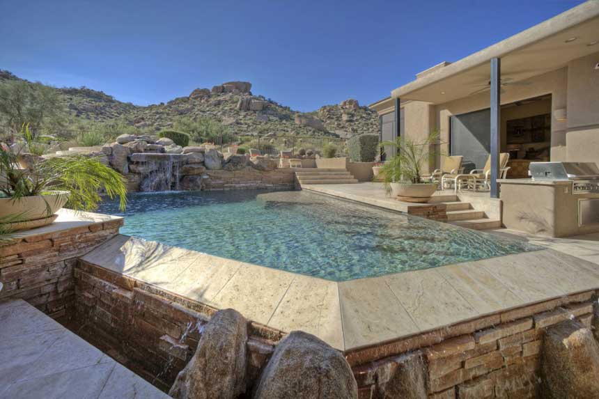 Pool Area4 7717 E Soaring E 1024x682 Scottsdale Real Estate Arizona | Luxury Valley Homes