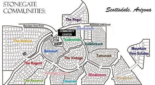 Stonegate Luxury Valley Homes Scottsdale Arizona