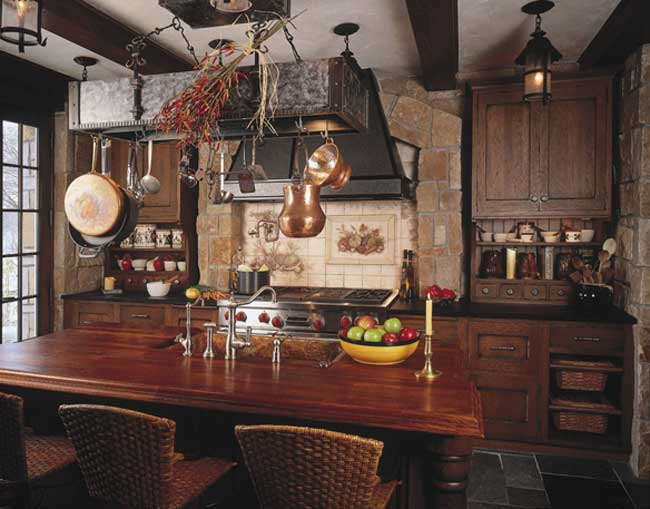 English Tudor Kitchen Design
