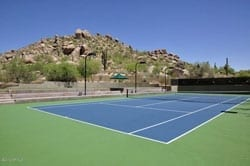 Winfield real estate Arizona Tennis court