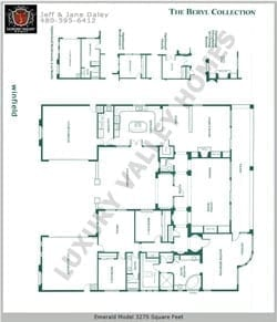 Winfield real estate model floor plans