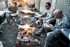 A Military Thanksgiving Overseas