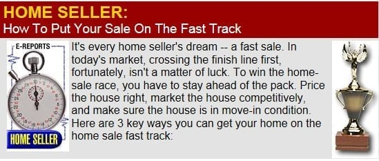 How To Put Your Sale On The Fast Track