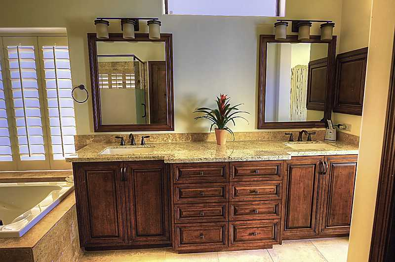 Sell or remodel luxury real estate scottsdale luxury - How to redo bathroom cabinets for cheap ...