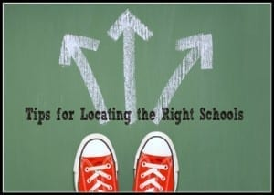 Tips for Locating the Right Schools