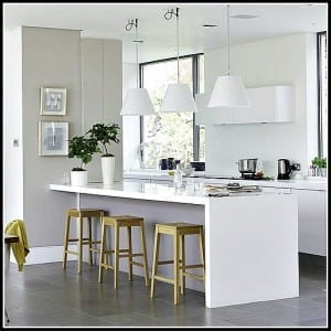 Want an Immaculately Clean Looking Home? Paint your Home White