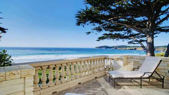 Pebble Beach Golf Beach Front Property $37.5 Million