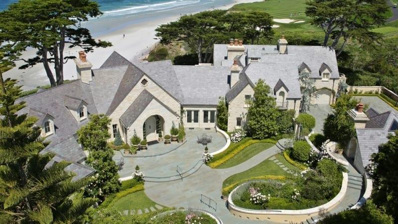 Pebble Beach Golf Front Property 37 5 Million