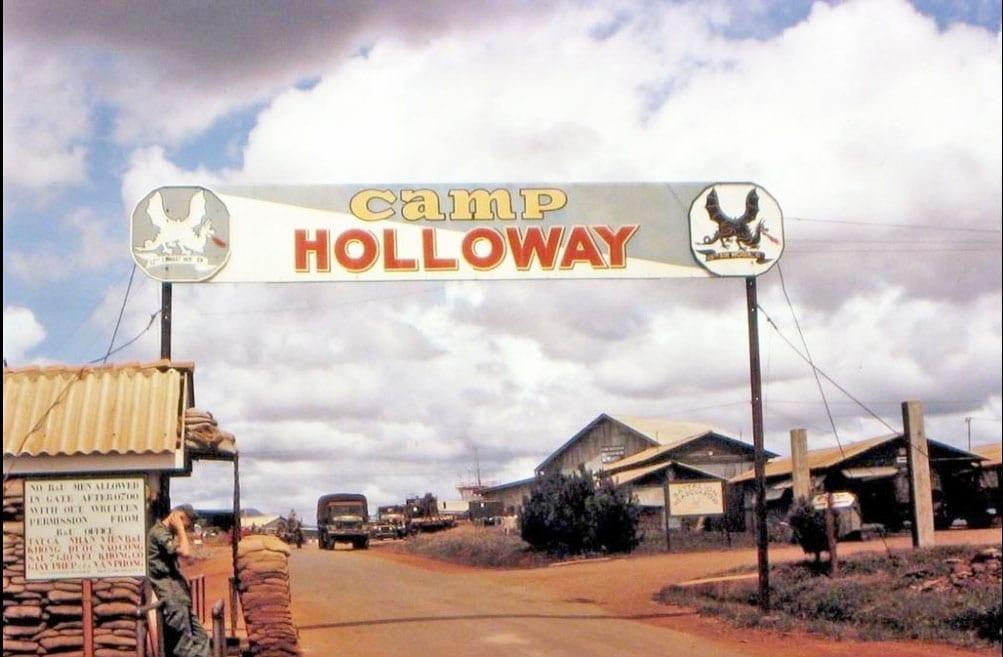 Camp Holoway - Pleiku, Vietnam